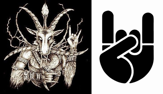 Horned Hand Sign or The Mano Cornuto Sign