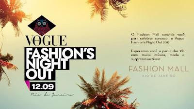 Fashioll+Mall+VFNO Vogue Fashions Night Out 2012 com a JOW