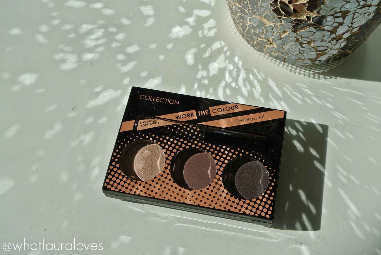 Collection Work The Colour Eyebrow Kit Review What Laura Loves