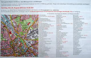 Informationsblatt der Stadt Osnabrück, Innenseiten