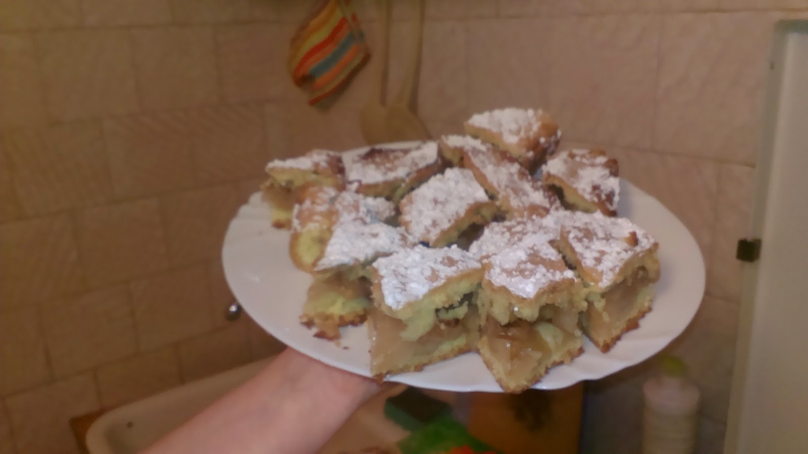 яблучный пирог