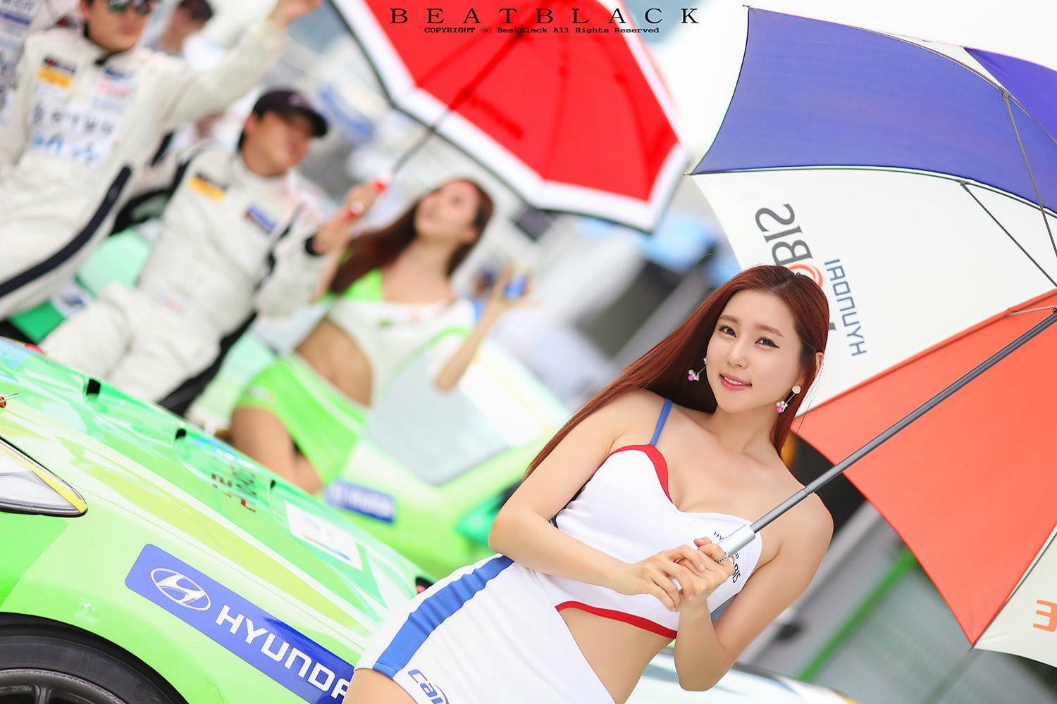1 Choi Yu Jung - Korea Speed Festival 2014 - very cute asian girl-girlcute4u.blogspot.com