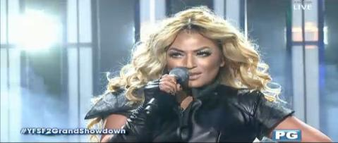 YFSF - Denise Laurel as Beyonce