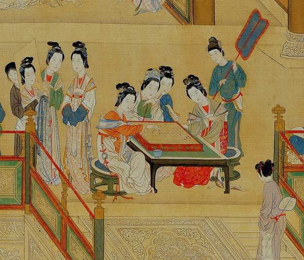 Reinette women of imperial china for Dynasty mural works