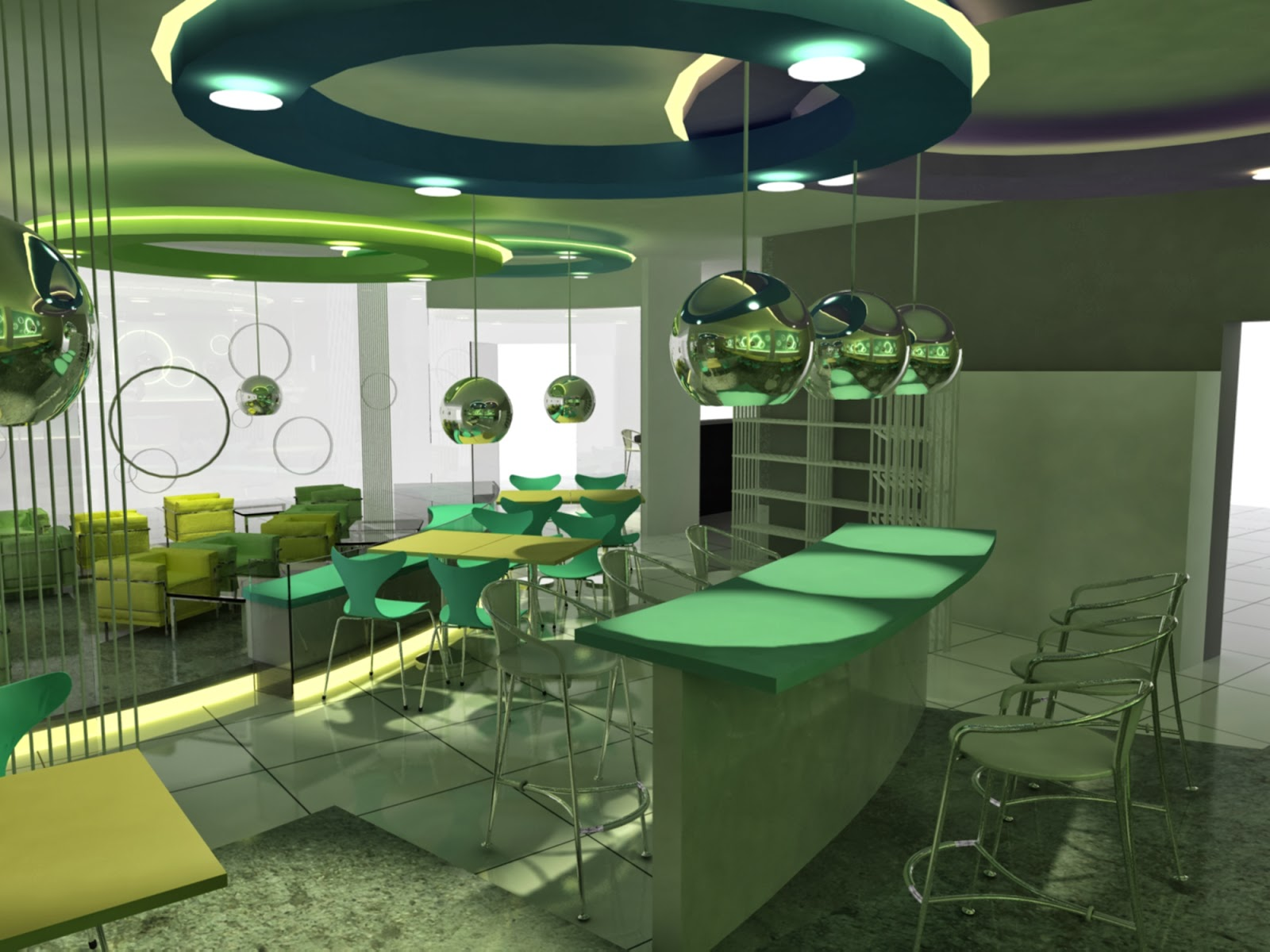 Interior design spgg cafe design proposal concept under for Interior design concept
