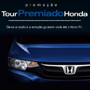 Participar promoção Tour Premiado Honda 2014