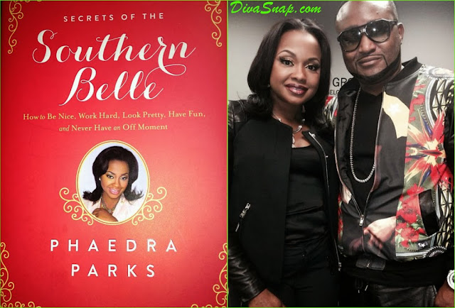 "WERK IT SOUTHERN BELLE: RHOA PHAEDRA PARKS NEW BOOK """"Secrets of The Southern Belle - DivaSnap.com"