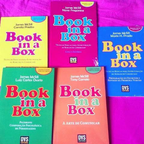 Coleção de livros Book in a Box, DVS Editora
