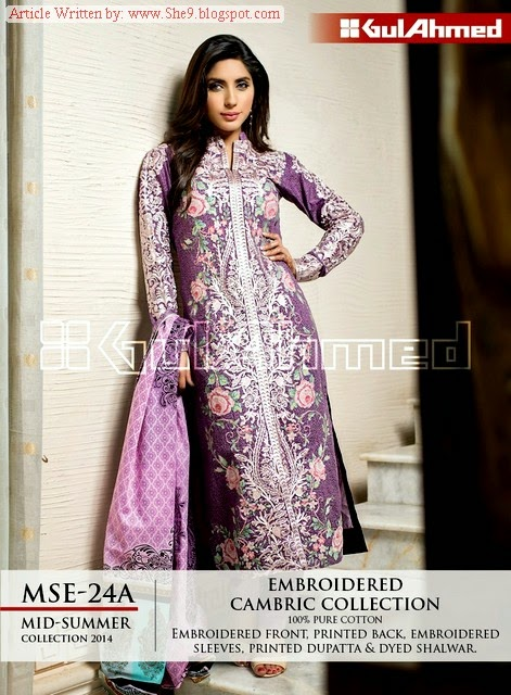 GUL AHMED - Best Cambric Dresses