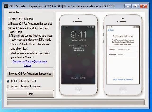 bypass activation lock iphone 4s download