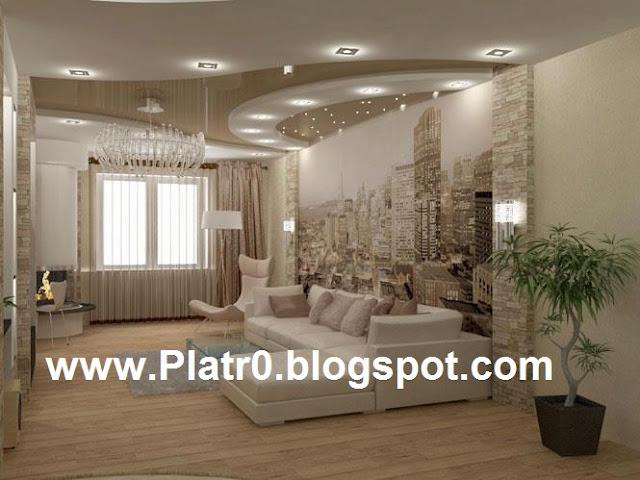 Best living room ceiling d coration platre maroc faux for Platre dicor 2015