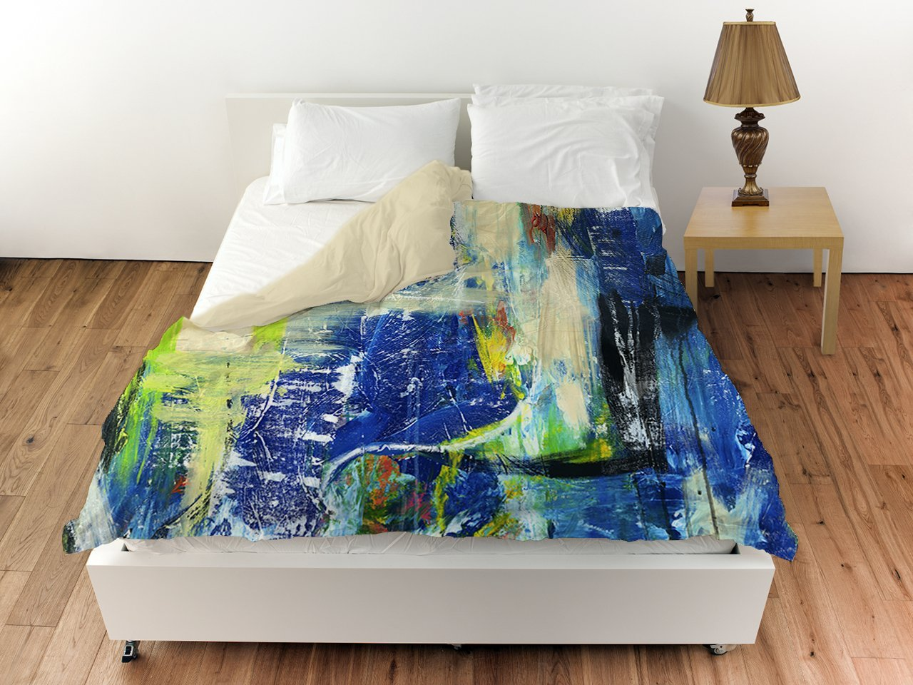 map splashes bedding boho modern watercolor abstract set wanderlust best art cover sets duve artbedding world bed duvet
