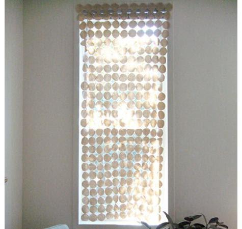 Como hacer cortinas de fieltro portal de manualidades - Cortinas de abalorios ...