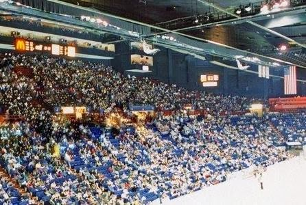 Capital Center seated 18,130 for hockey, and was the primary reason Washington had a team