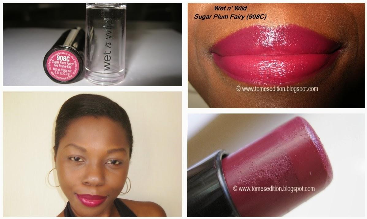 tomes edition wet n wild sugar plum fairy 908c lipstick�