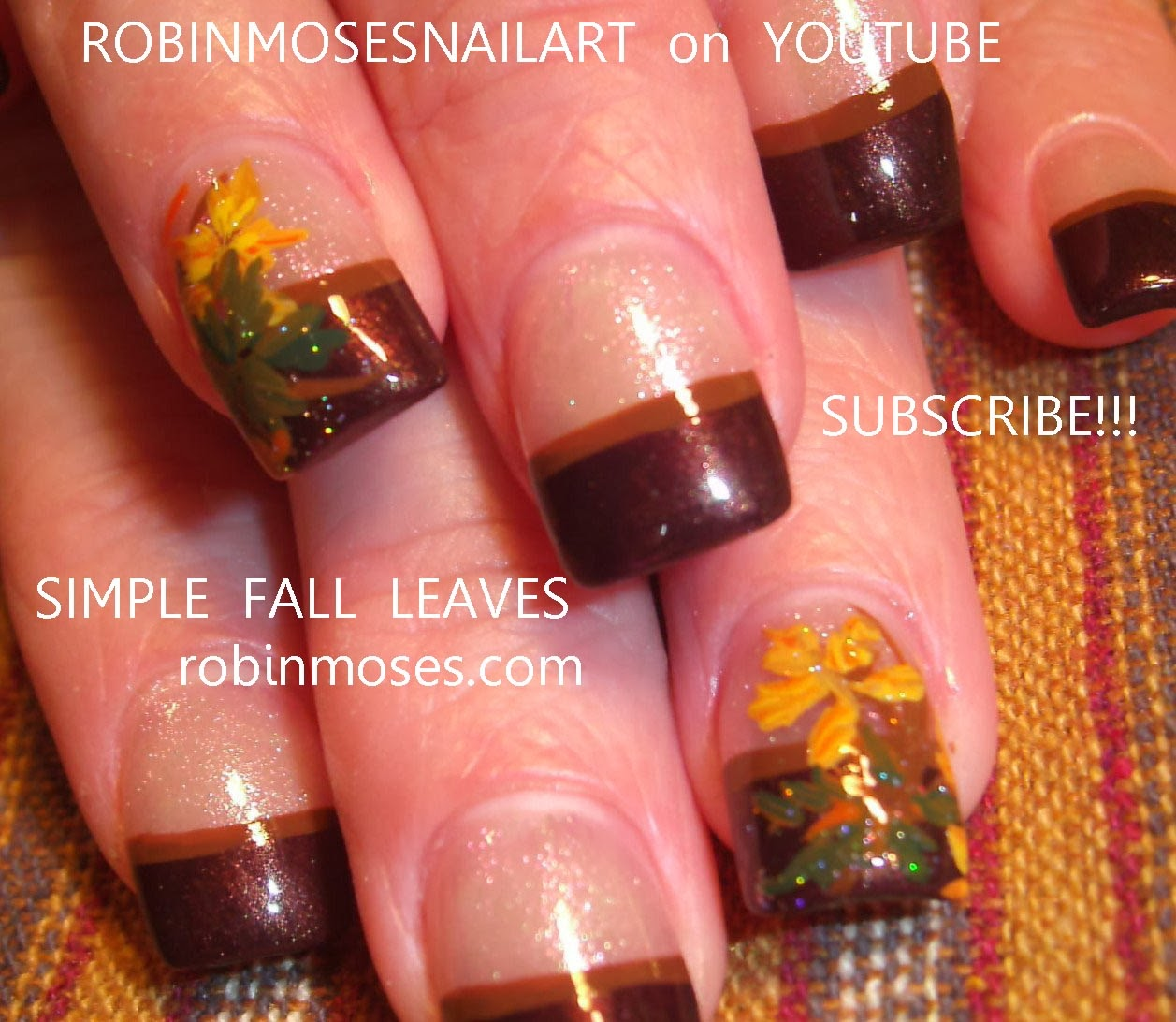 Simple Fall Nail Designs: Robin Moses Nail Art: November 2013
