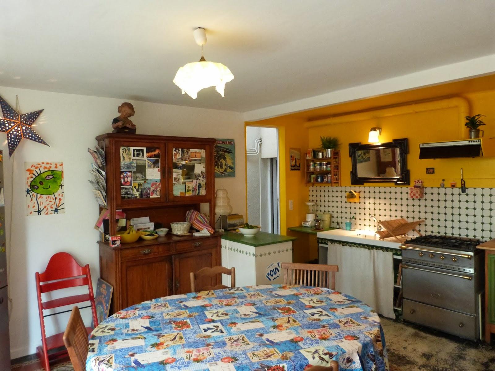Fanny le gall d coration du soleil dans la cuisine - Le soleil dans la cuisine ...