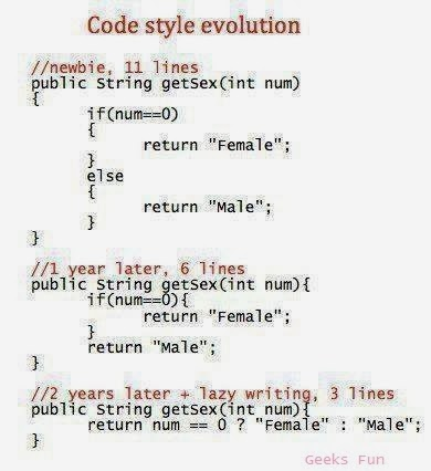 code style evolution