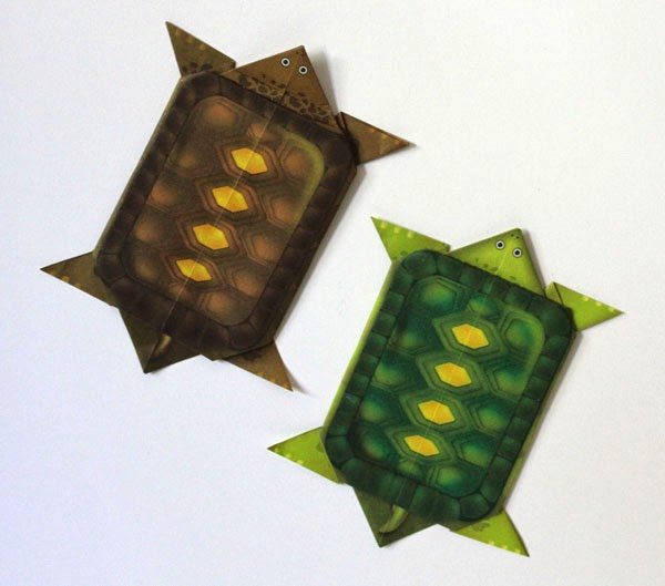 Origami Turtle Magnets