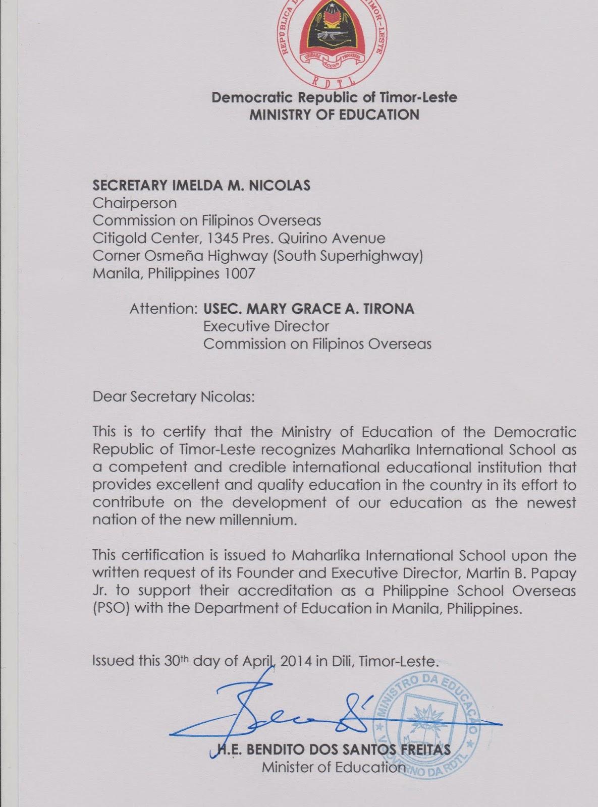 Maharlika International School News And Updates