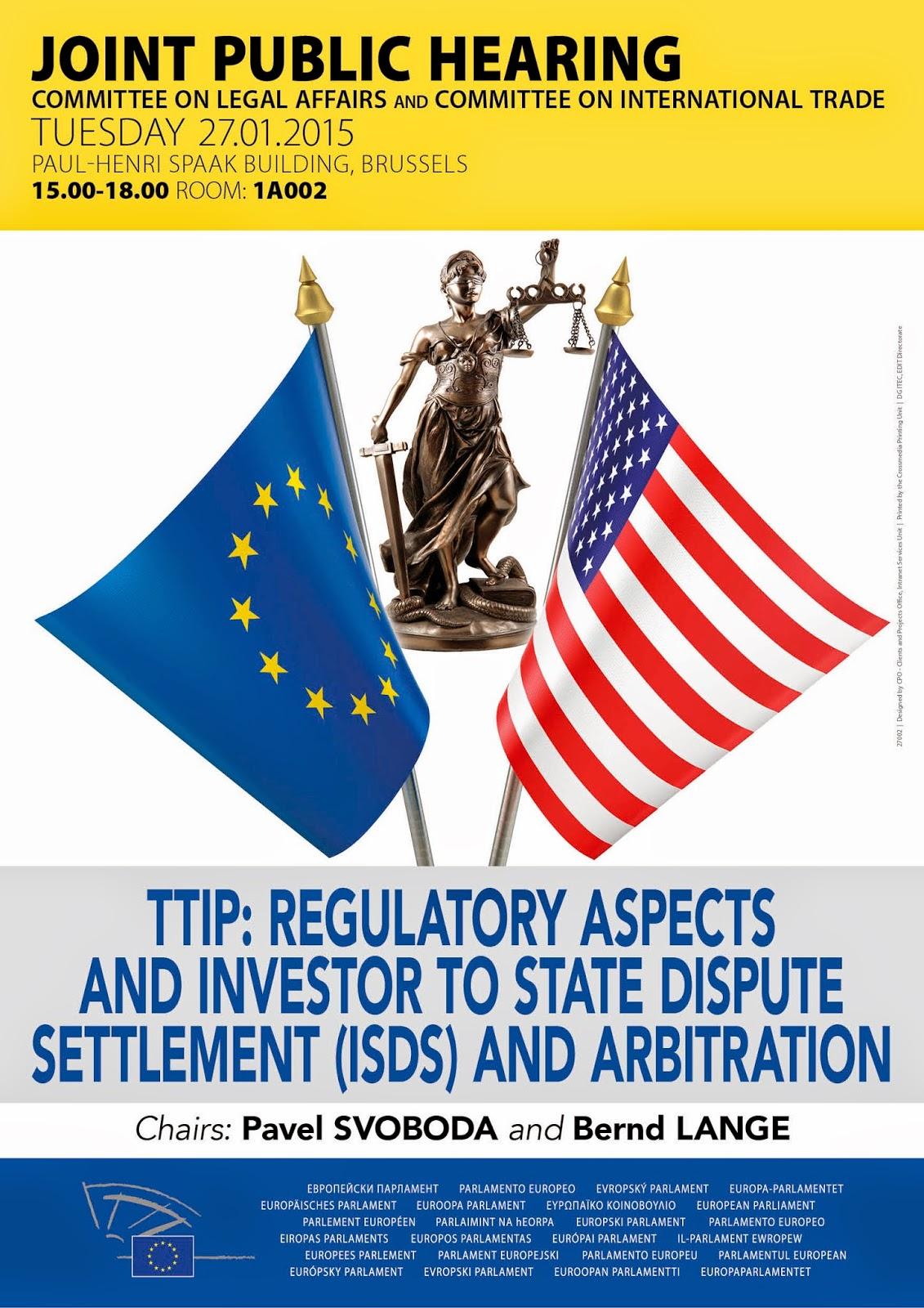 TRANSATLANTIC TRADE AND INVESTMENT PARTNERSHIP (TTIP): REGULATORY ASPECTS