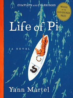 Cover of Life of Pi, a novel by Yann Martel