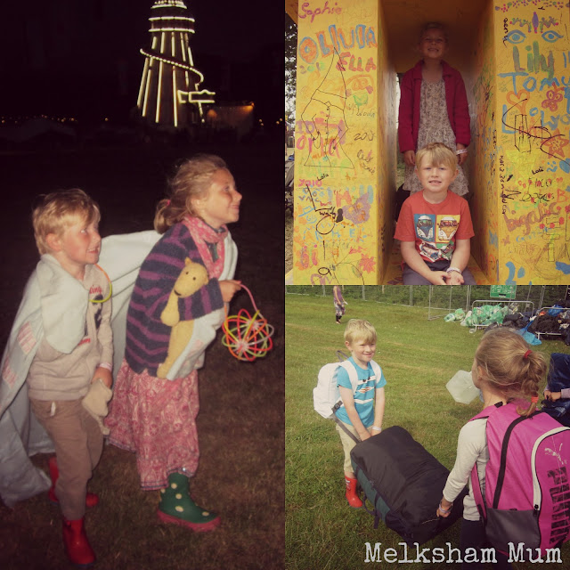 Making memories - Camp Bestival 2013