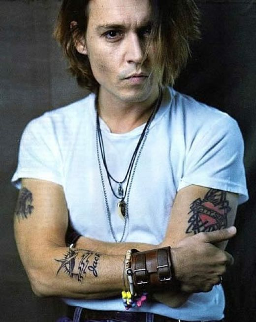 johnny depp lily rose tattoo. Johnny Depp live on stage