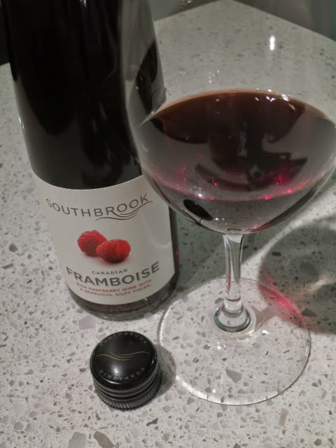 Wine Review of Southbrook Canadian Framboise from Ontario, Canada