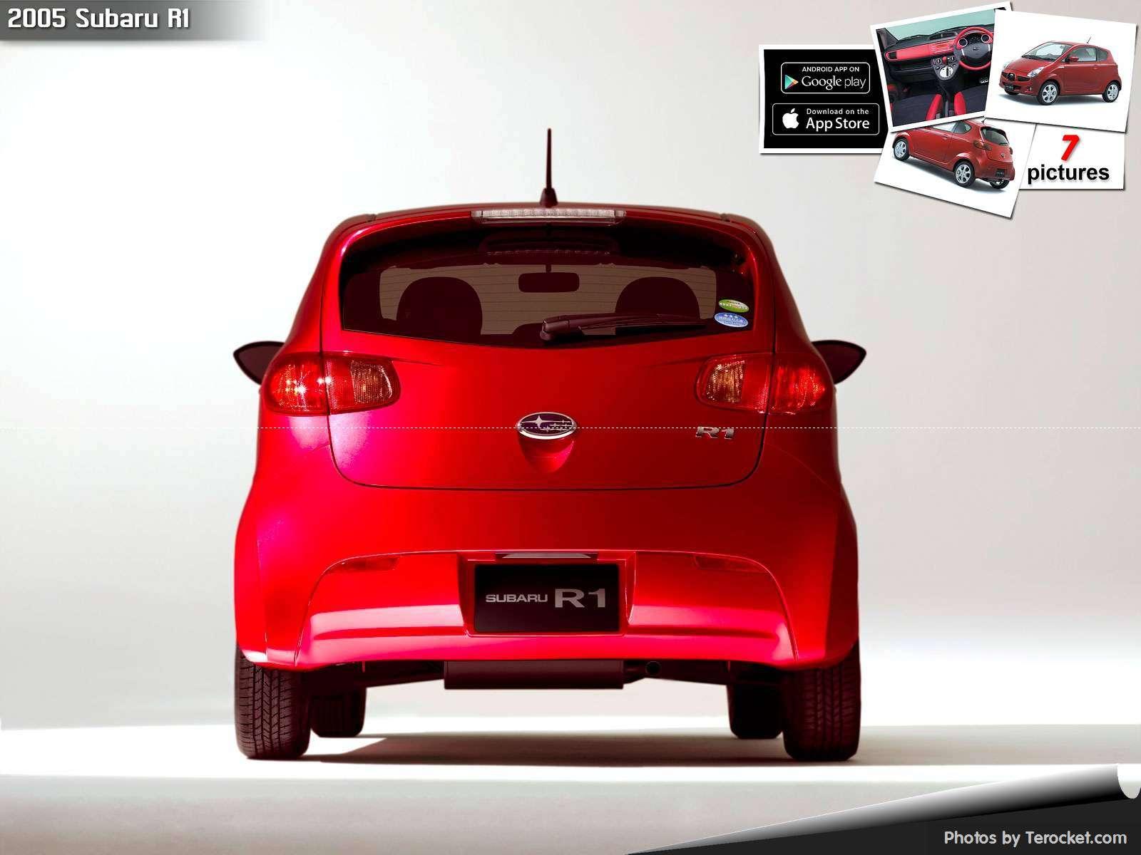 Hình ảnh xe ô tô Subaru R1 2005 & nội ngoại thất