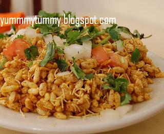Bhel-Poori-Indian-chaat-Recipe