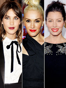 Pop Of Color! Bright Lips...RED Lips