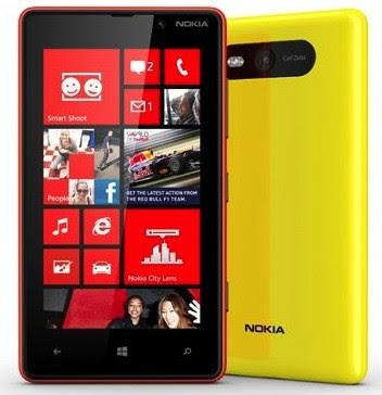 Review, Spec, Nokia Lumia 820