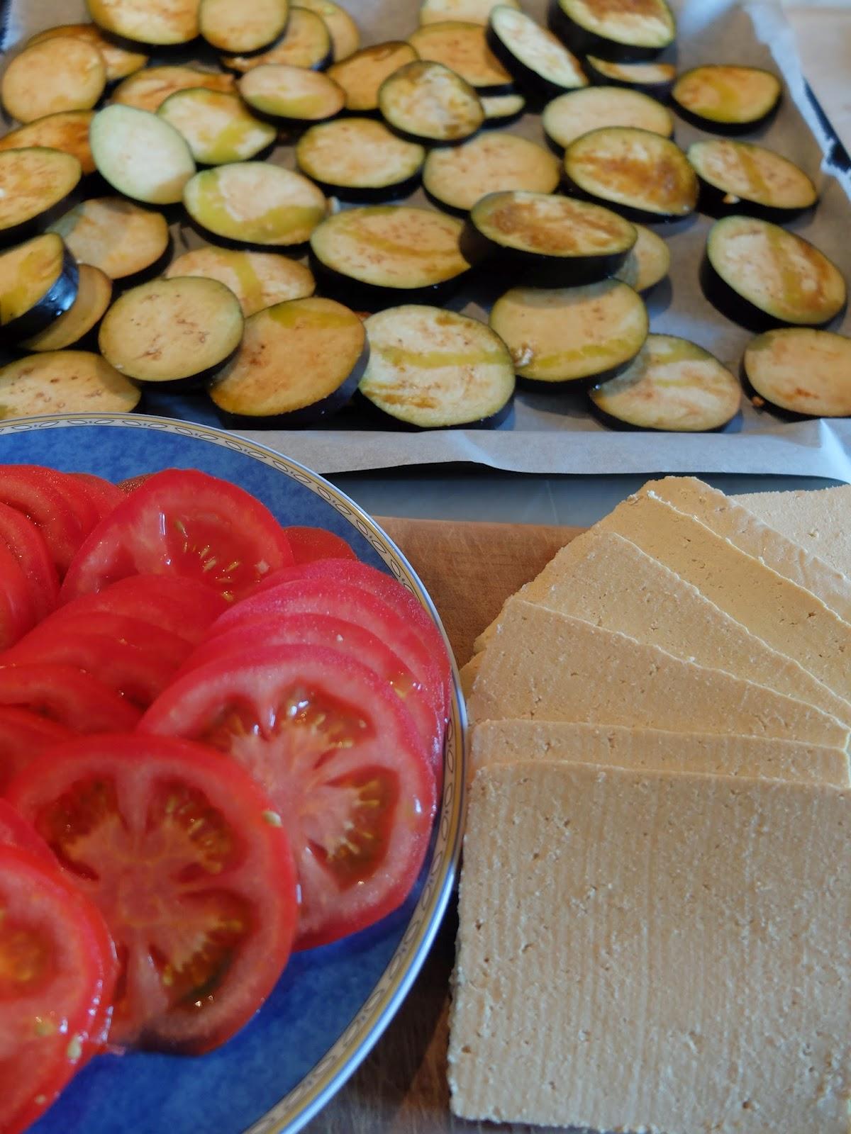 Aubergine Tomate Tofu