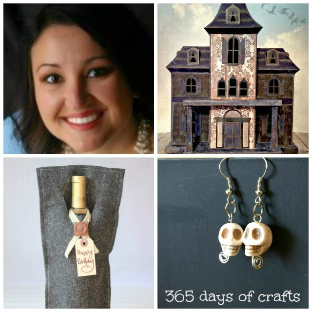 365 Days of Crafts Projects, Outside [the Box] No. 8: Visit www.blackandwhiteobsession.com to link up and be inspired #linkparty #outsidetheboxparty