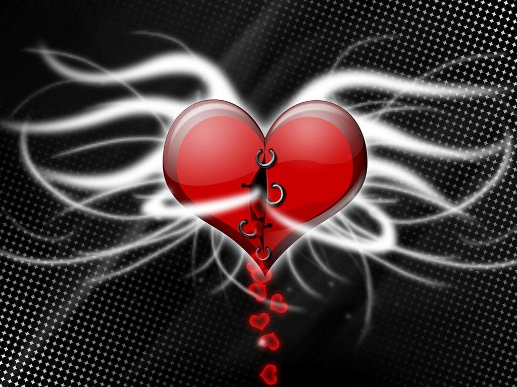 Colorear Pintar: Corazón del Día de los Enamorados