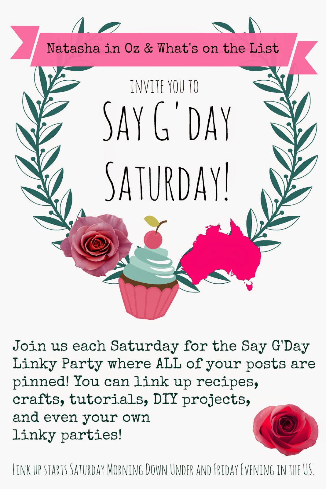 Friday Favorites and an Announcement about the Say G'Day Linky Party