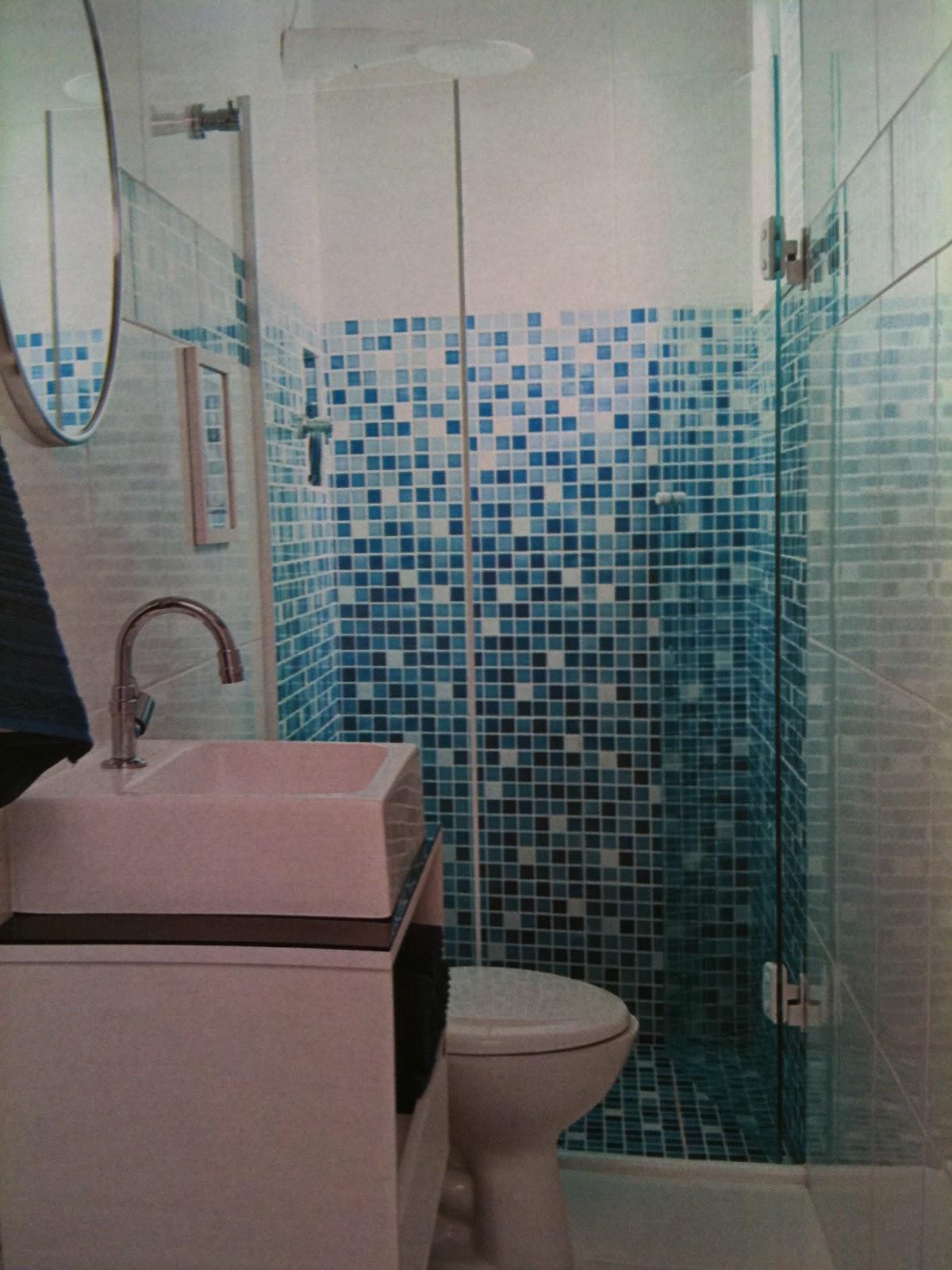 Muitas pessoas me perguntam qual a cor legal pro banheiro da suíte do  #284D5E 1200x1600 Banheiro Azul Com Branco