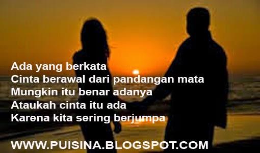 """Puisi Sahabat Jadi Cinta Karena Sering Jumpa """"Edisi Arjuna Linglung"""""""