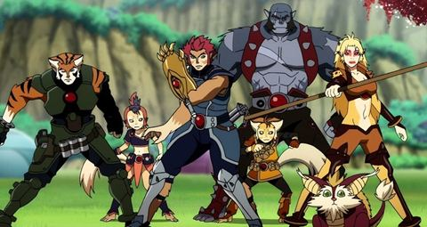 Thunder  Cartoon on Animax Club  Thundercats