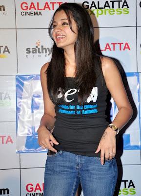 Trisha Sizzles at Galatta Cinema Book Launch Hot Pics