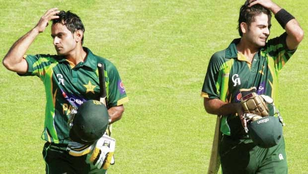 Muhammad Hafeez and Ahmed Shehzad