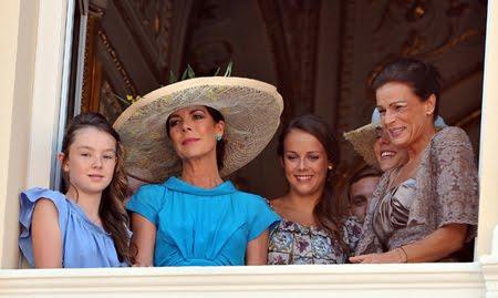 Александра Принцеса на Хановер и Полин Дюкре на брака на Шарлийн и Албер