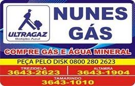 Nunis Gás - Ultragaz o Botijão Azul