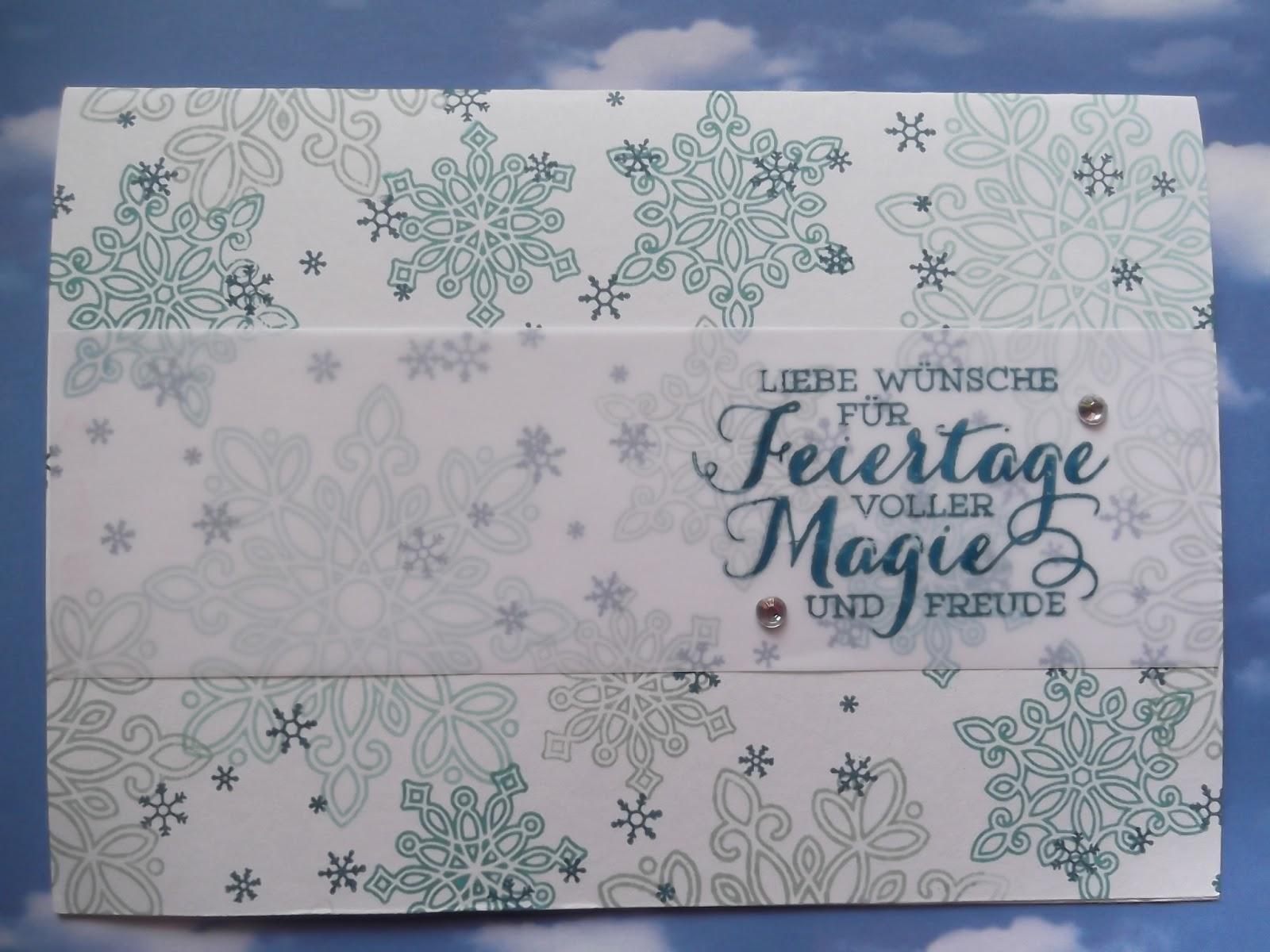 Bezaubernd Edle Weihnachtskarten Basteln Foto Von Noch Eine Weihnachtskarte Mit Dem Neuen Set