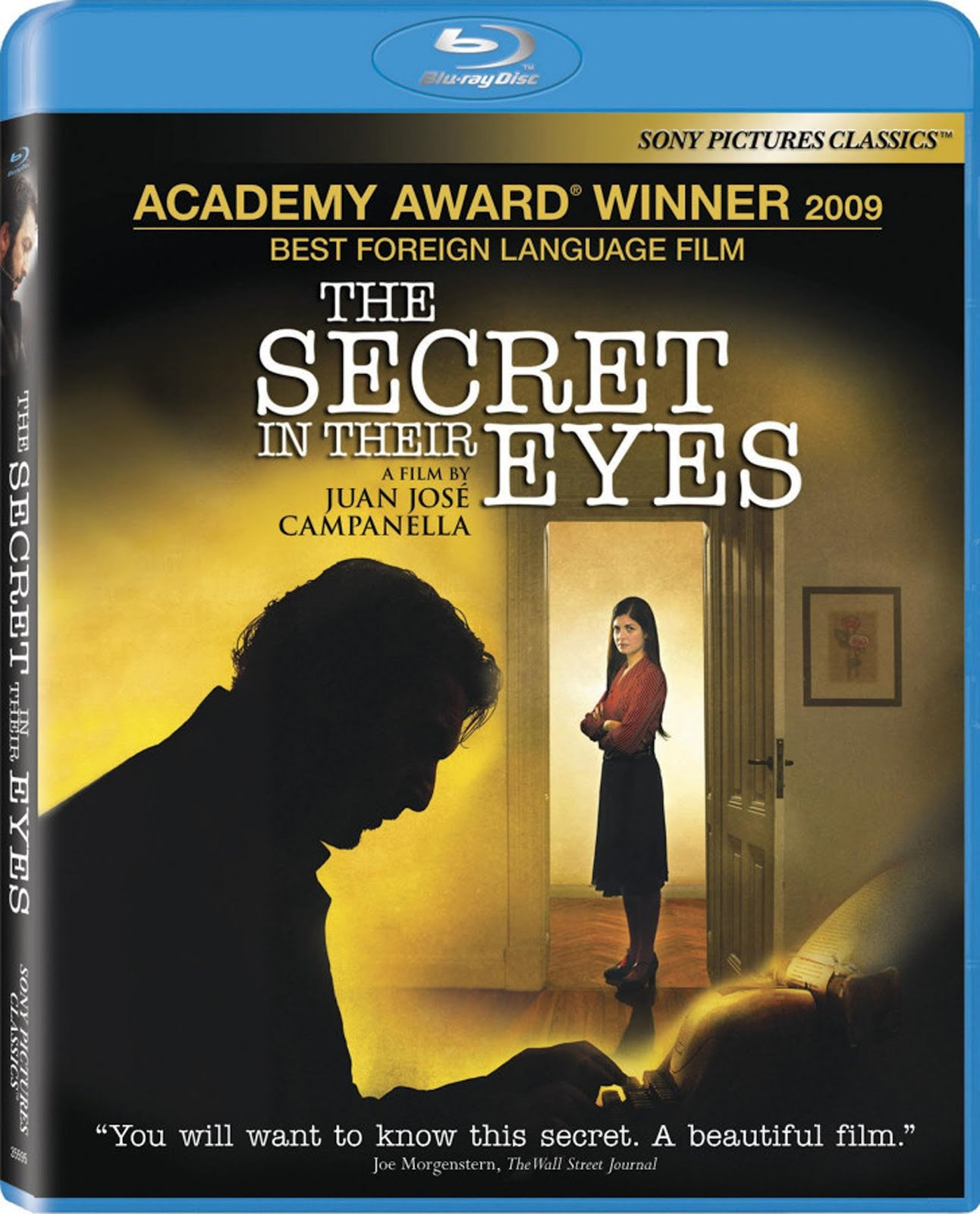 The Secret in Their Eyes Blu-ray DVD Case