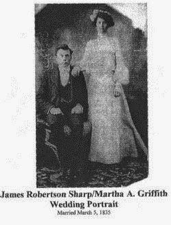 James and Martha Sharp