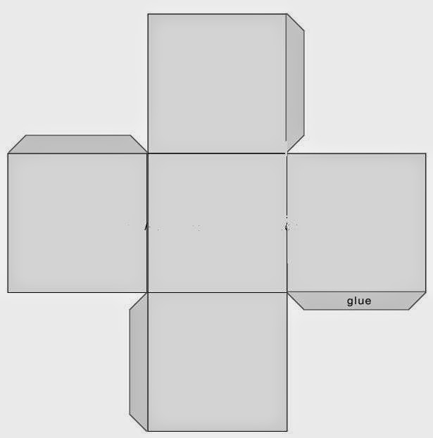 This is an image of Priceless Square Box Template Printable