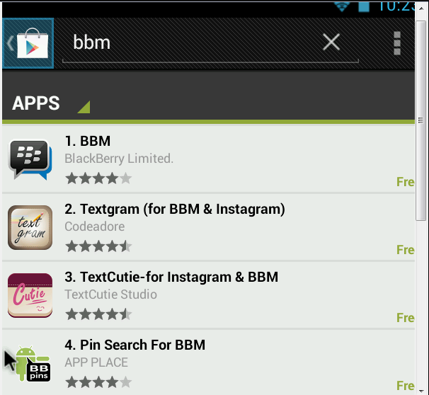 How to install BBM in PC