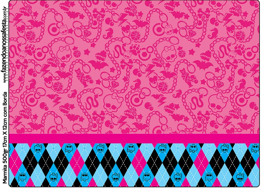Free Printable Monster High Labels m Amp ms Free Printable Label